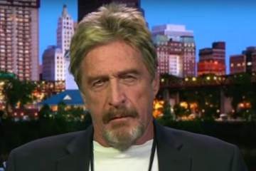 Russia Did Not Hack the DNC (John McAfee)